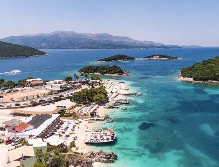 Ksamil -Albanija leto 2021